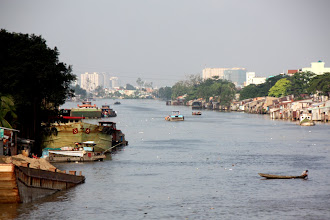 Photo: Year 2 Day 29 - River View as We Left Saigon