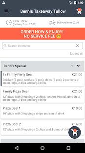 Download Bennis Takeaway Tullow For PC Windows and Mac apk screenshot 2
