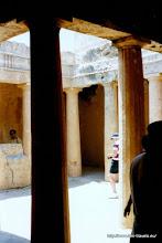 Photo: Paleo Paphos. Zogenaamde koningsgraven   Paleo Paphos. So-called royal tombs.