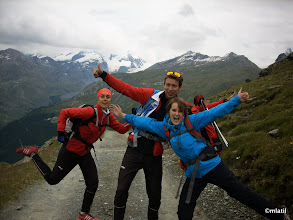 Photo: Descent from Schwarzsee, foto by Amélie, thanks!