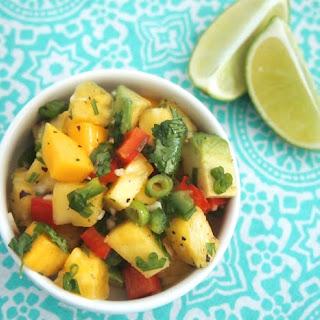Pineapple Mango Salsa.