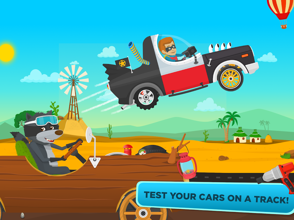 racing car game for kids free screenshot