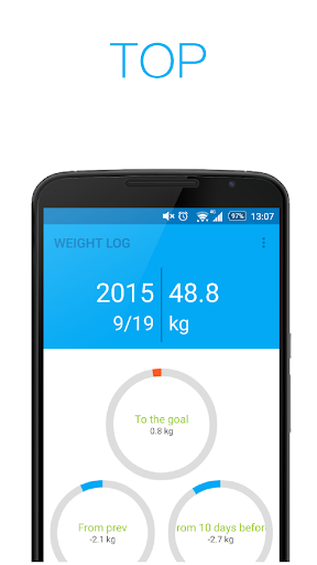 体重管理 -WEIGHT LOG -