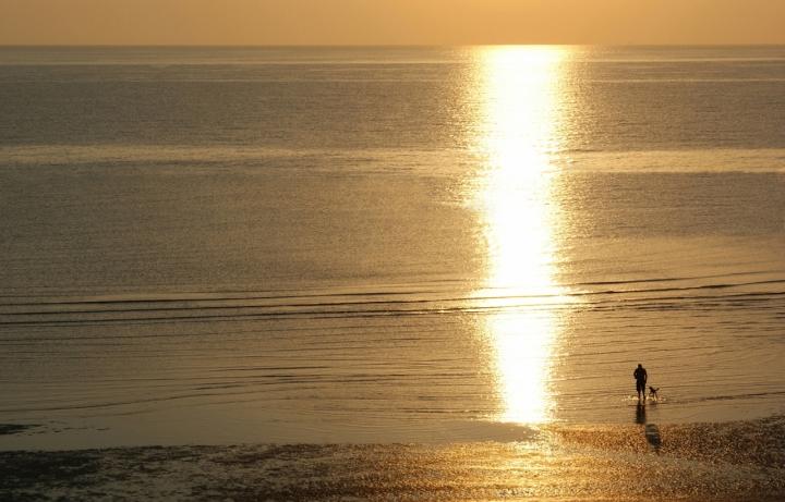 Passeggiata all'alba di mariarosa-bc