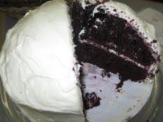 """Red Velvet Cake For 2 Layer 9"""" Cake"""