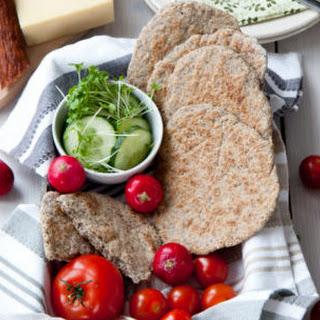Easy Flaxseed Buckwheat Flatbread