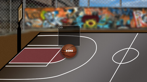 街头篮球拍