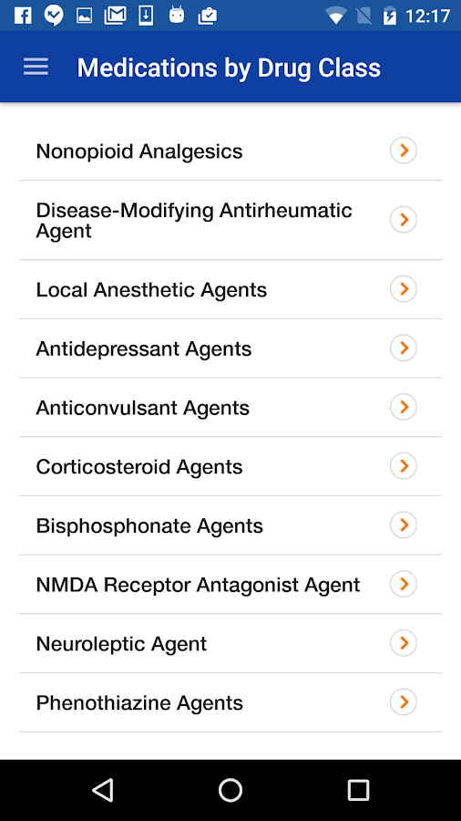 Pain Drugs Handbook- screenshot
