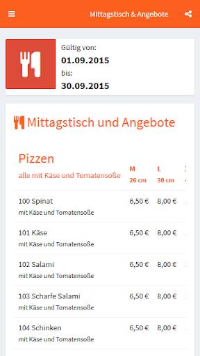 Schlemmer Pizza Marbach