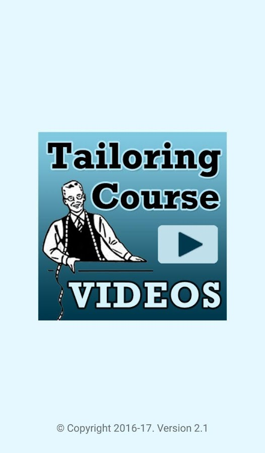 Tailoring Course VIDEOS App- screenshot