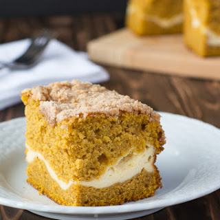 Pumpkin Cream Cheese Coffee Cake.