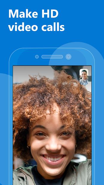 Skype - free IM & video calls Android App Screenshot