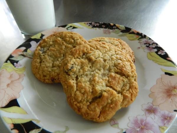 Honey Oatmeal Cookies Recipe