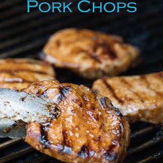 Grilled Garlic Pork Chops.