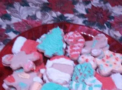 Holiday  Sugar Cookies Recipe