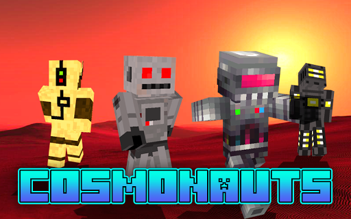 Space skins for Minecraft