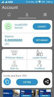 Free Litecoin Maker - LTC Miner - náhled