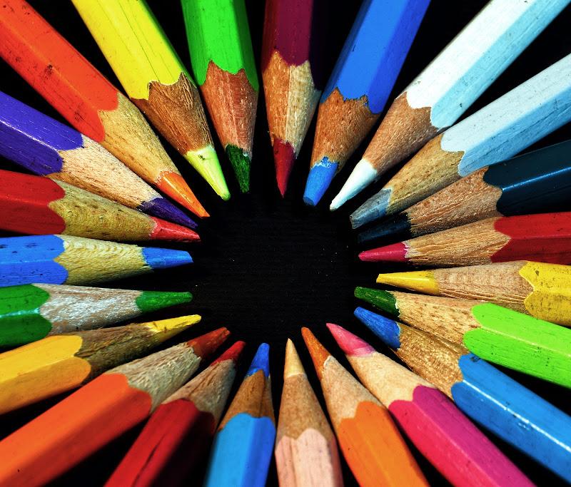 Matite multicolor di Diana Cimino Cocco