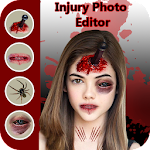 Injury Photo Editor 2018-Zombie Photo Maker 2018 Icon