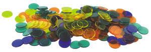 Plastmarker till bingo - 7762-672-5