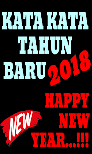 Kata Kata Tahun Baru #2018 - náhled
