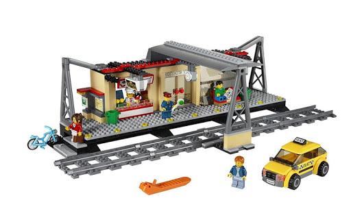 Train Building Set for Kids