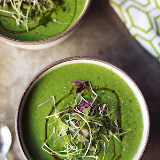 Fennel Spinach Soup {gluten-free and paleo with vegan options}