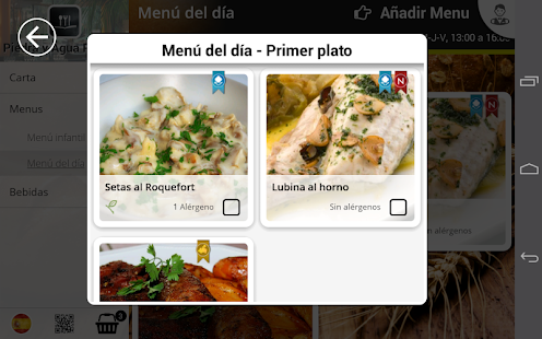 EntreCartas, The digital carte- screenshot thumbnail