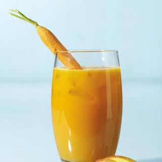 Mango, Pineapple and Carrot Juice.