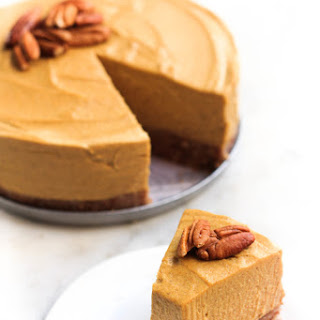 Gluten-free Vegan Pumpkin Cheesecake