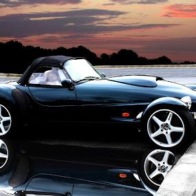 Panoz by JEFFREY LORBER - Transportation Automobiles ( panoz, jeffrey lorber, rust 'n chrome, car, convertible, lorberphoto, sports car )