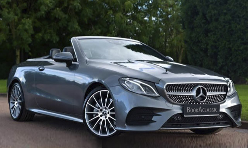 Mercedes-Benz E300 Convertible Hire Bolton