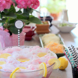 Soda-Free Pink Party Punch.