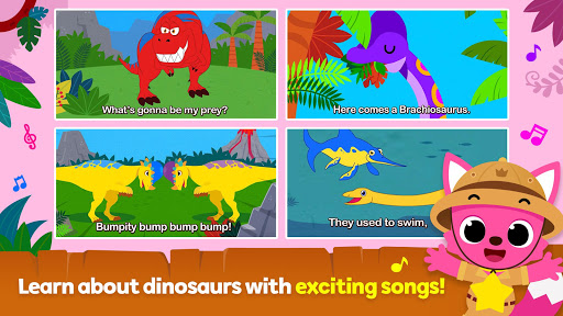 Pinkfong Dino World screenshots 2
