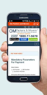 Om Packers And Movers India- screenshot thumbnail