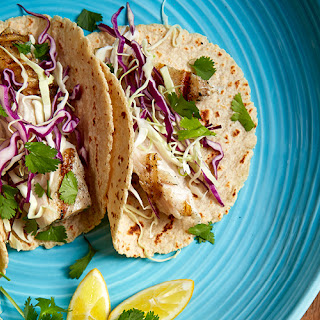 Simple Grilled Fish Tacos.