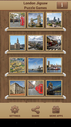 London Jigsaw Puzzle Games screenshots 1