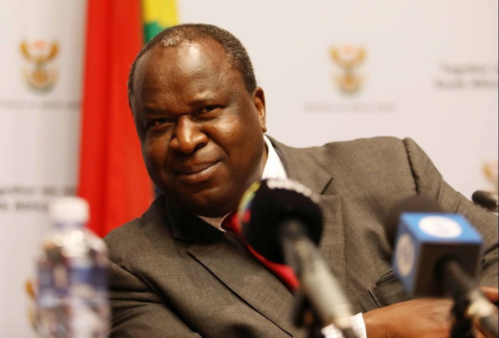 Mboweni claps back at backlash, calls on comrades to adapt to change when it comes to debating party issues - TimesLIVE