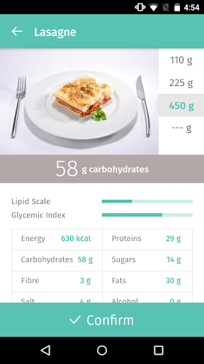Gluci-Chek: diabetes and carbs 3.0.9 Screenshots 2