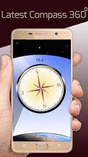 Fast Mobile Compass, Find Location World Wide - náhled