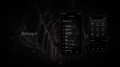 Biohazard Substratum Theme screenshot 9