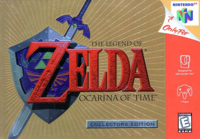 Image result for ocarina of time collectors edition