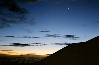 Photo: Cotopaxi, 5500 meters above the sea level, 6:10 am