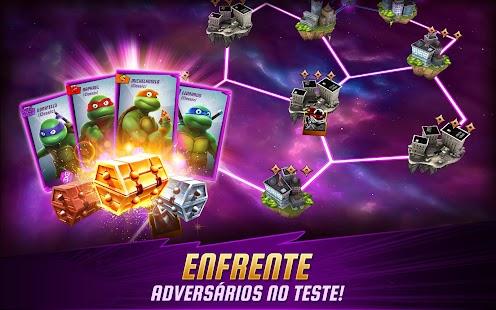 As Tartarugas Ninja: Lendas APK para Android imagem 4
