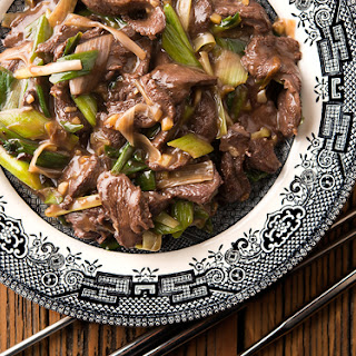 Duck Stir Fry with Scallions