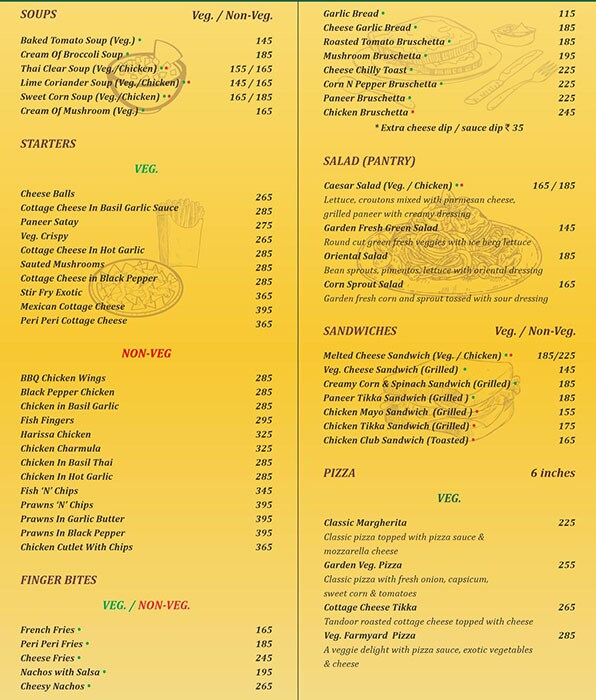 Mucho Sizzlers and More menu 3