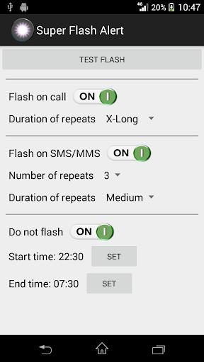 Super Flash Alert