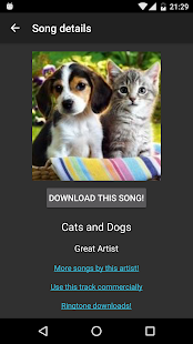 Free Mp3 Downloads- screenshot thumbnail