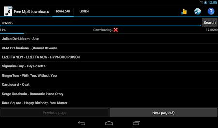 Free Mp3 Downloads 3.0 screenshot 19563