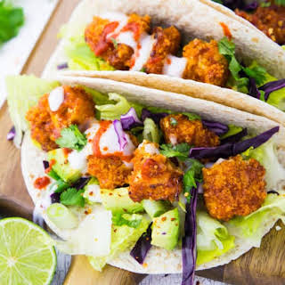 Vegan Cauliflower Tacos.